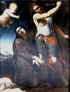 Sainte Eugénie décapitée