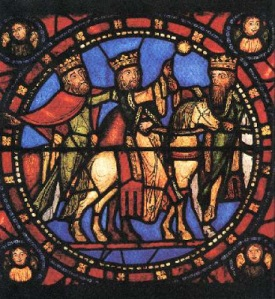 Chartres_les rois mages-XIIIe
